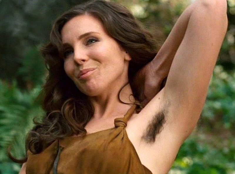 I still love a woman with hairy arms