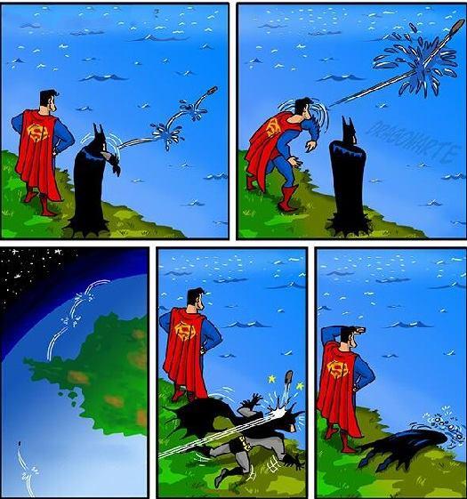 Прикольные картинки с надписями про супергероев