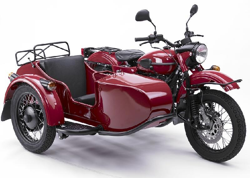 мотоцикл с коляской фото урал