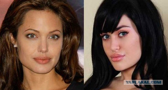 Порно актриса похожая на анжелину джоли