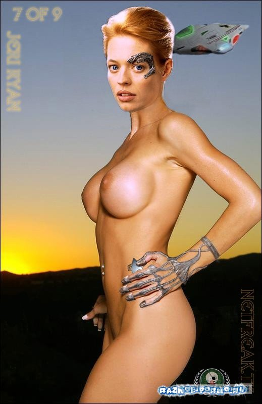 Star trek jeri ryan naked
