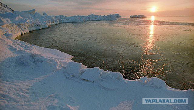 Военные отправились на изучение гула со дна океана в канадской Арктике