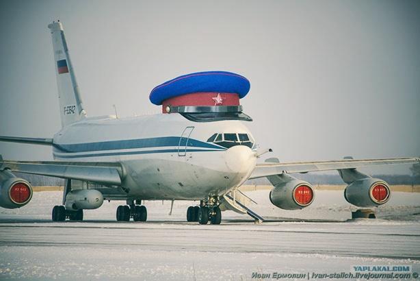 Машина с «красной кнопкой» на борту - Ил-80