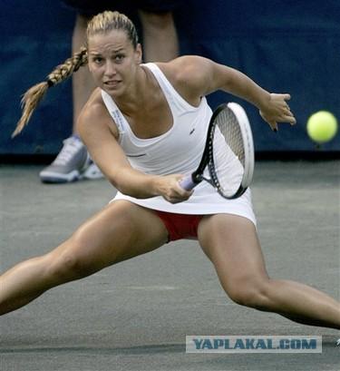Сексуальное видео теннисисток