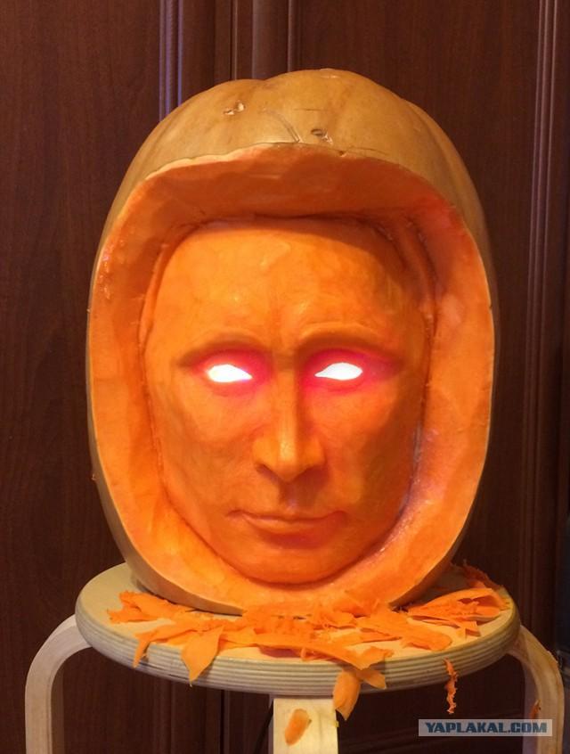 Тыквенные рожи к Хеллоуину