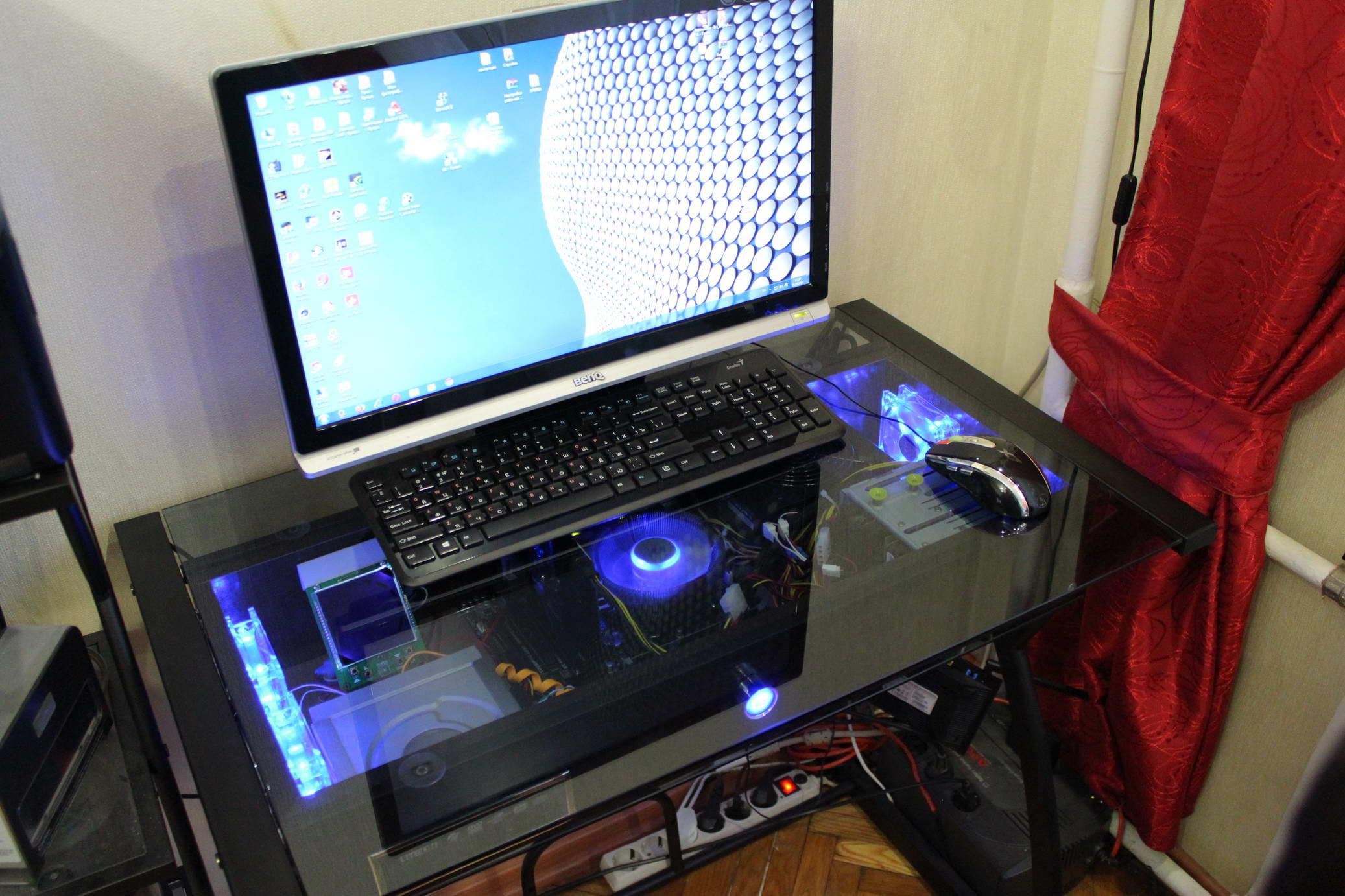 Компьютерный стол или стол-компьютер - Яплакалъ.