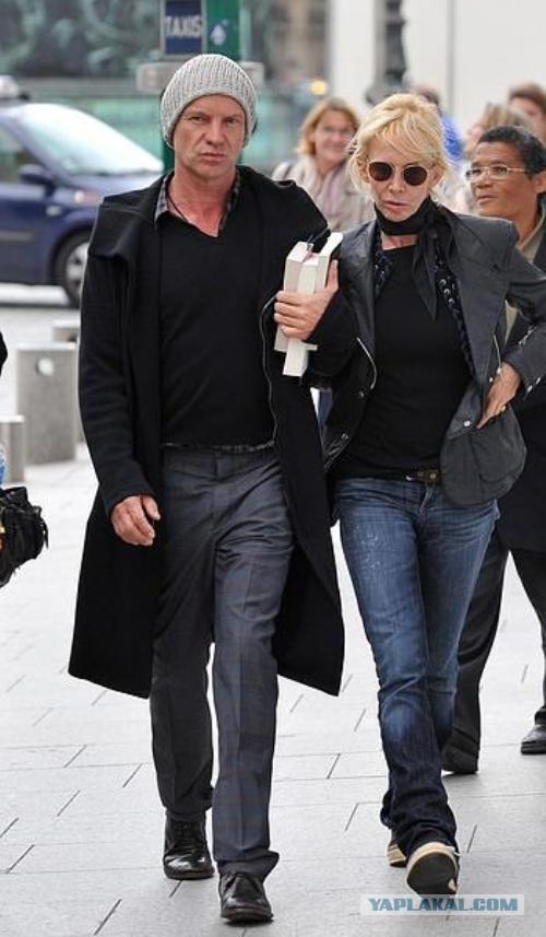 стинг и его жена фото