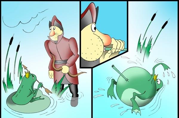 Смешные картинки царевна-лягушка, открытки лет мальчику