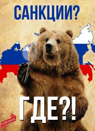 картинки санкции медведь том, кто