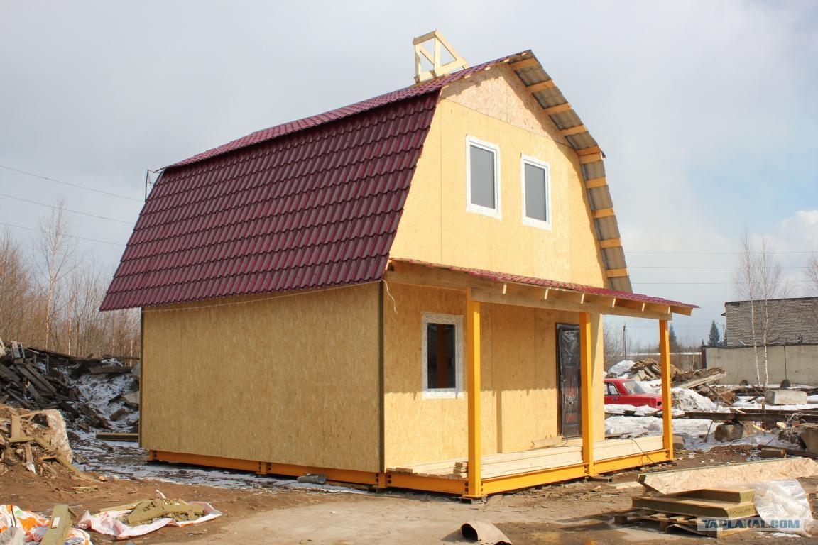 Как построить дом своими руками недорого Строительство и 62