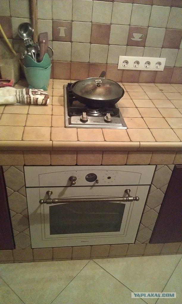 Кухня на каркасе своими руками
