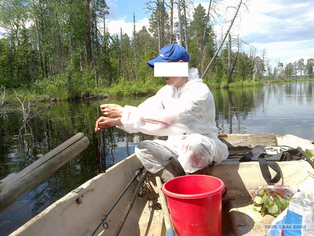 рыбалка на глухом озере видео