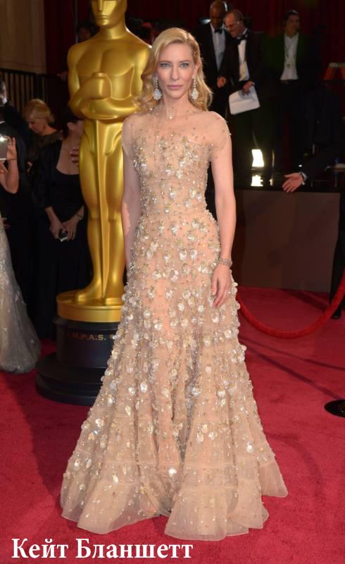Оскар-2014 платья