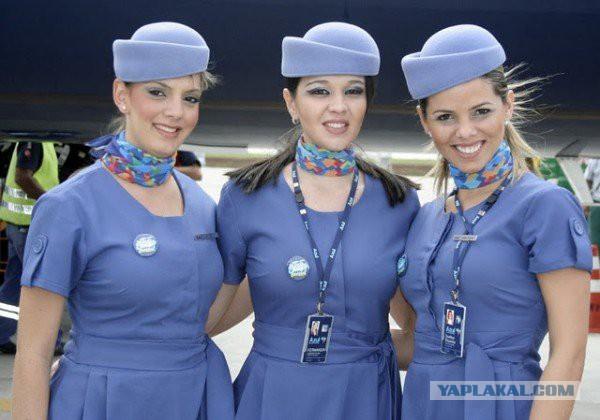 Униформа российских авиакомпаний