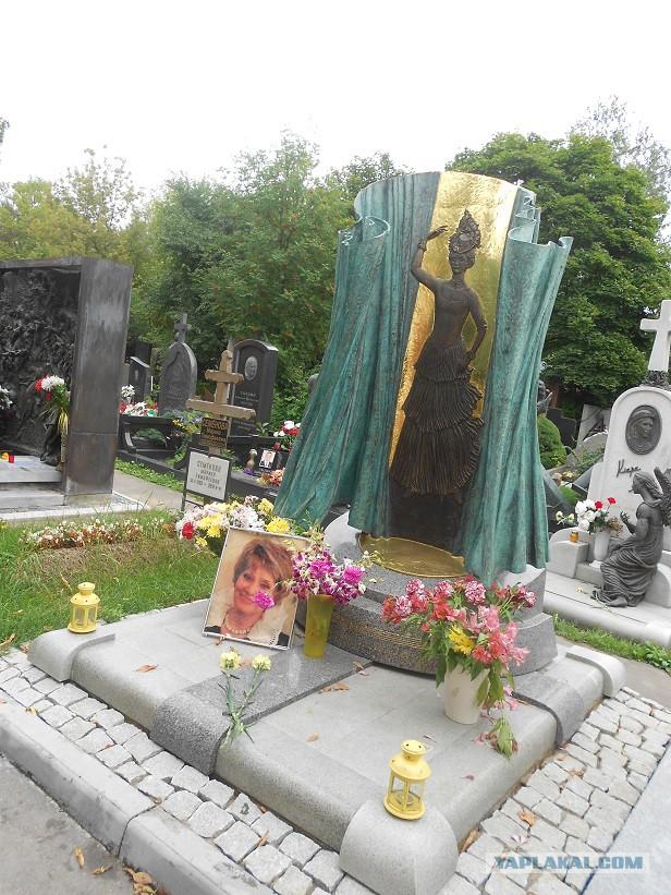 могила жанны фриске сейчас фото