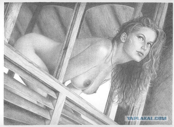Нагие женжины фото рисунки фото 653-986