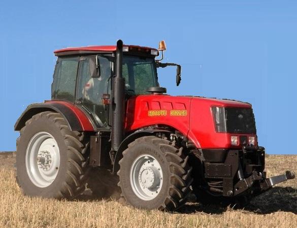 Энергонасыщенные тракторы МТЗ 2022, МТЗ 2822, МТЗ 3022.
