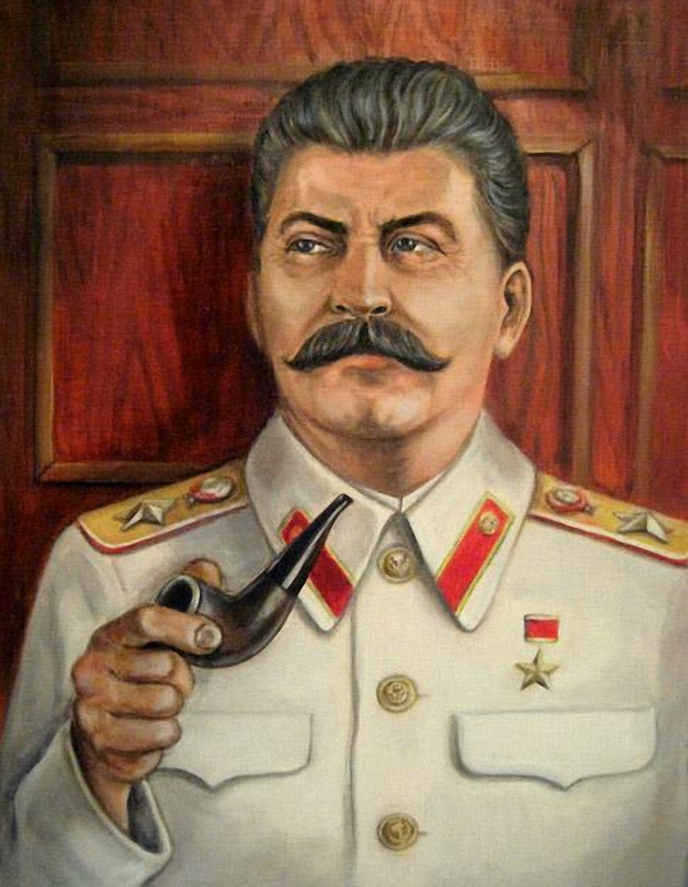 Картинка суровый сталин