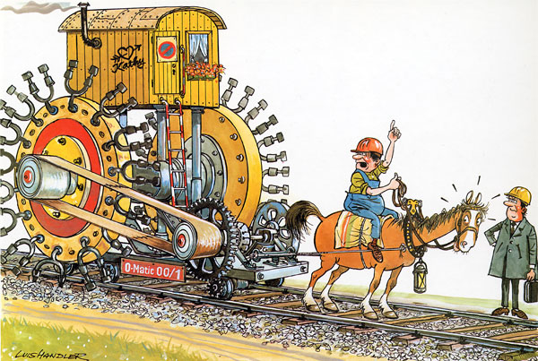 прикольные рисунки про железнодорожников проводимость