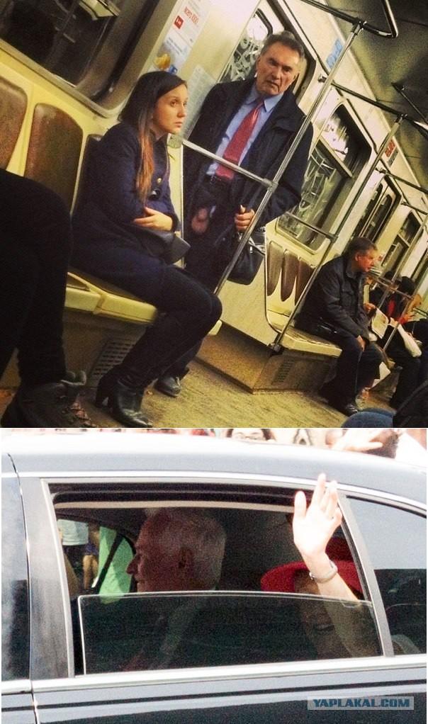 Дрочит в метро и его спалили, трахают пьяную японку в метро