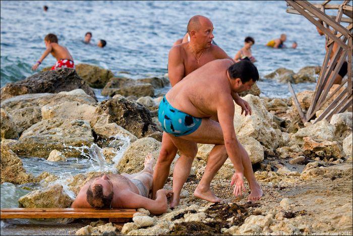 Фото пьяных на пляже фото 569-505