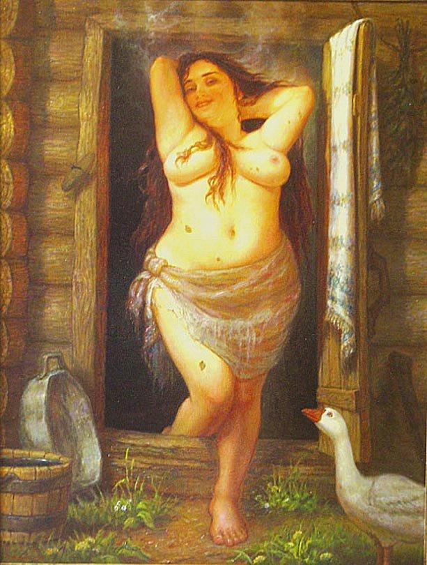 Посмотреть фото женщин в русской бане фото 362-579