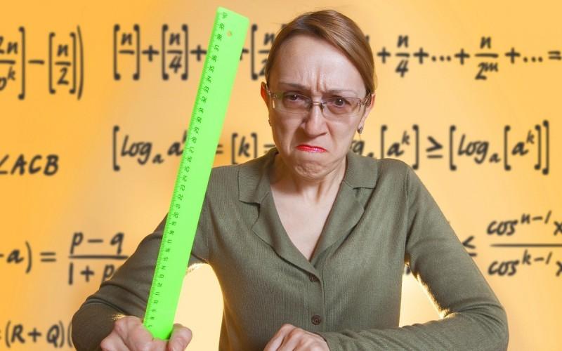 У моей училки 5 размер