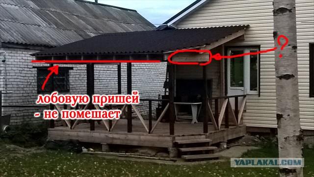 Как я беседку-веранду строил. ч.1 (или как я провел лето)