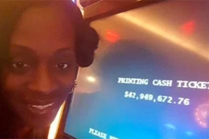 Американка засудит казино за отказ выплатить 43 миллиона долларов джек-пота