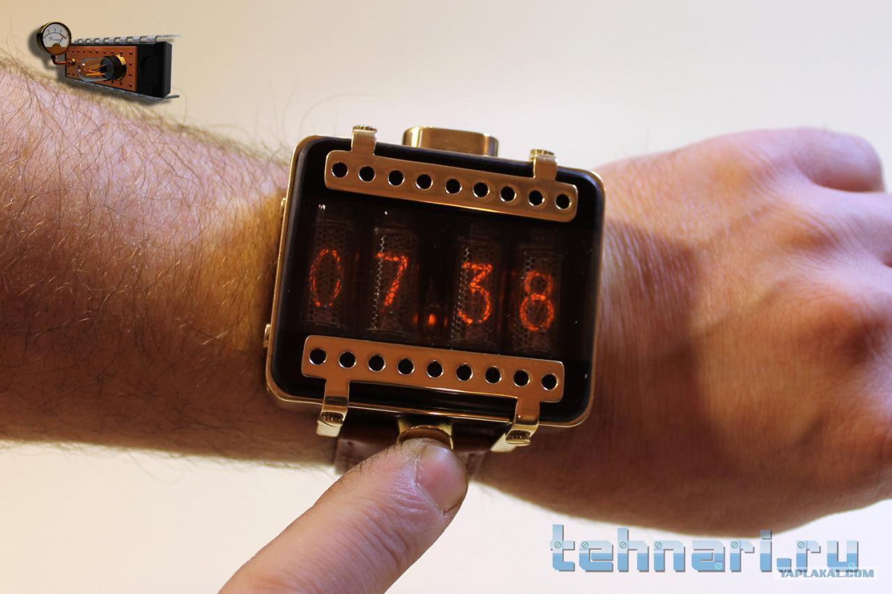 Наручные ламповые часы своими руками наручные часы кфг