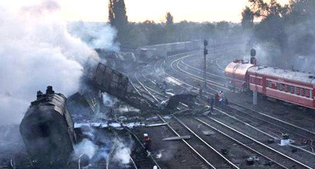 Поезд-беглец: как огненное цунами превратило город в выжженную землю