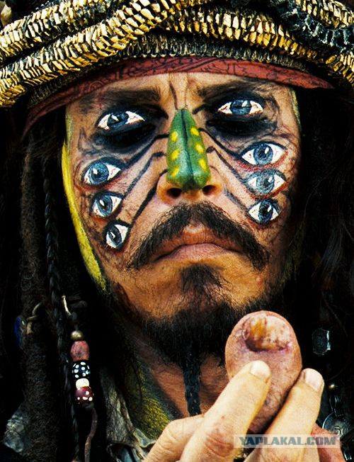 Jack sparrow makeup