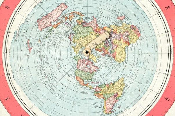 Карта Плоской Земли Скачать - фото 7