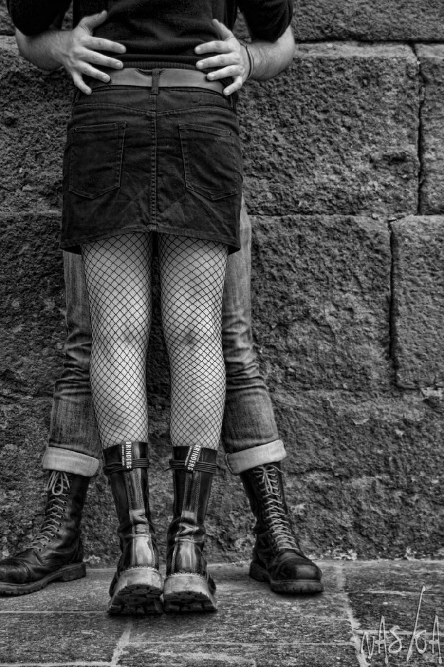 фото девушки скинхеды