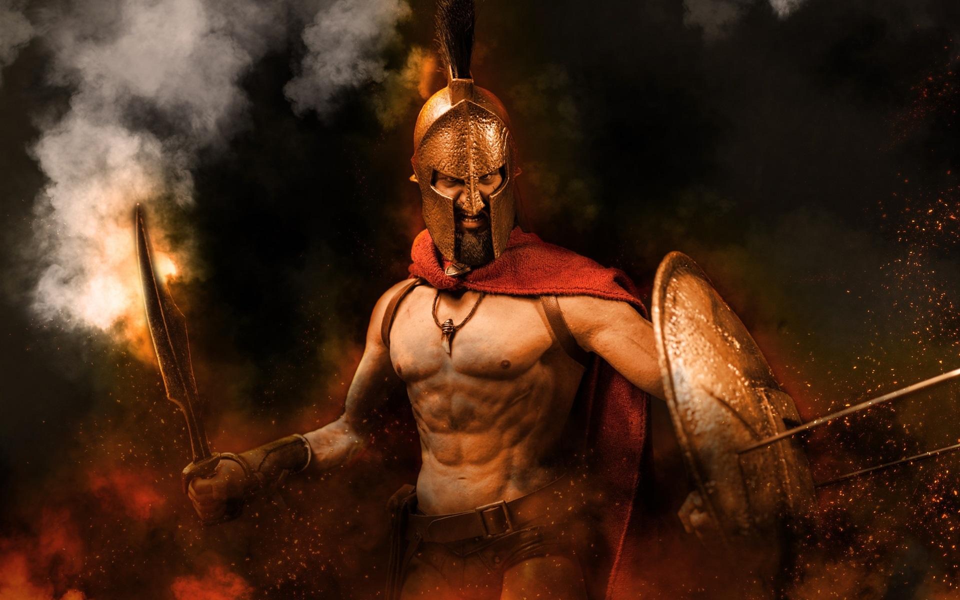 Красивые картинки спартанцев