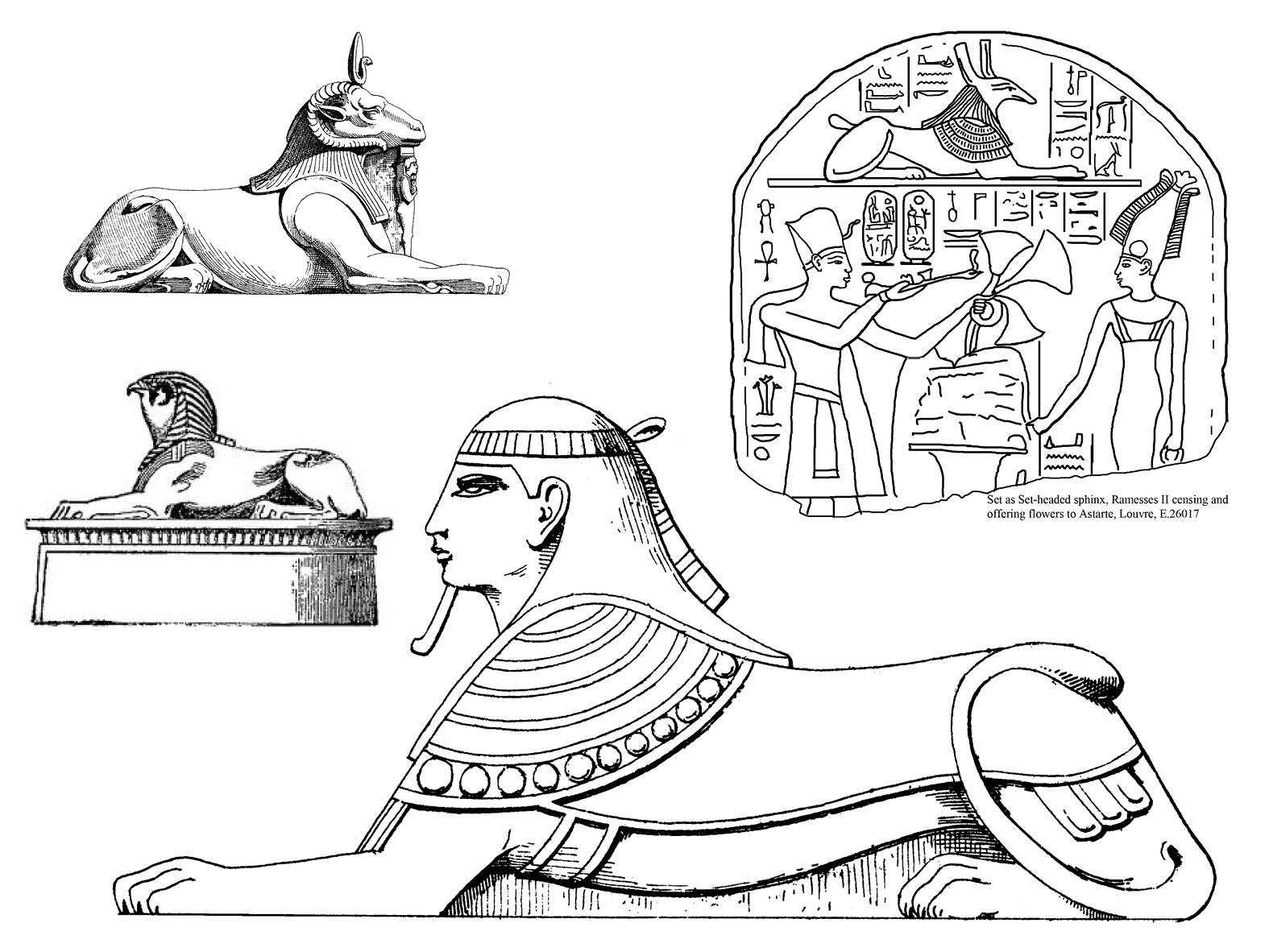египетские сфинксы раскраска таких уличных боев