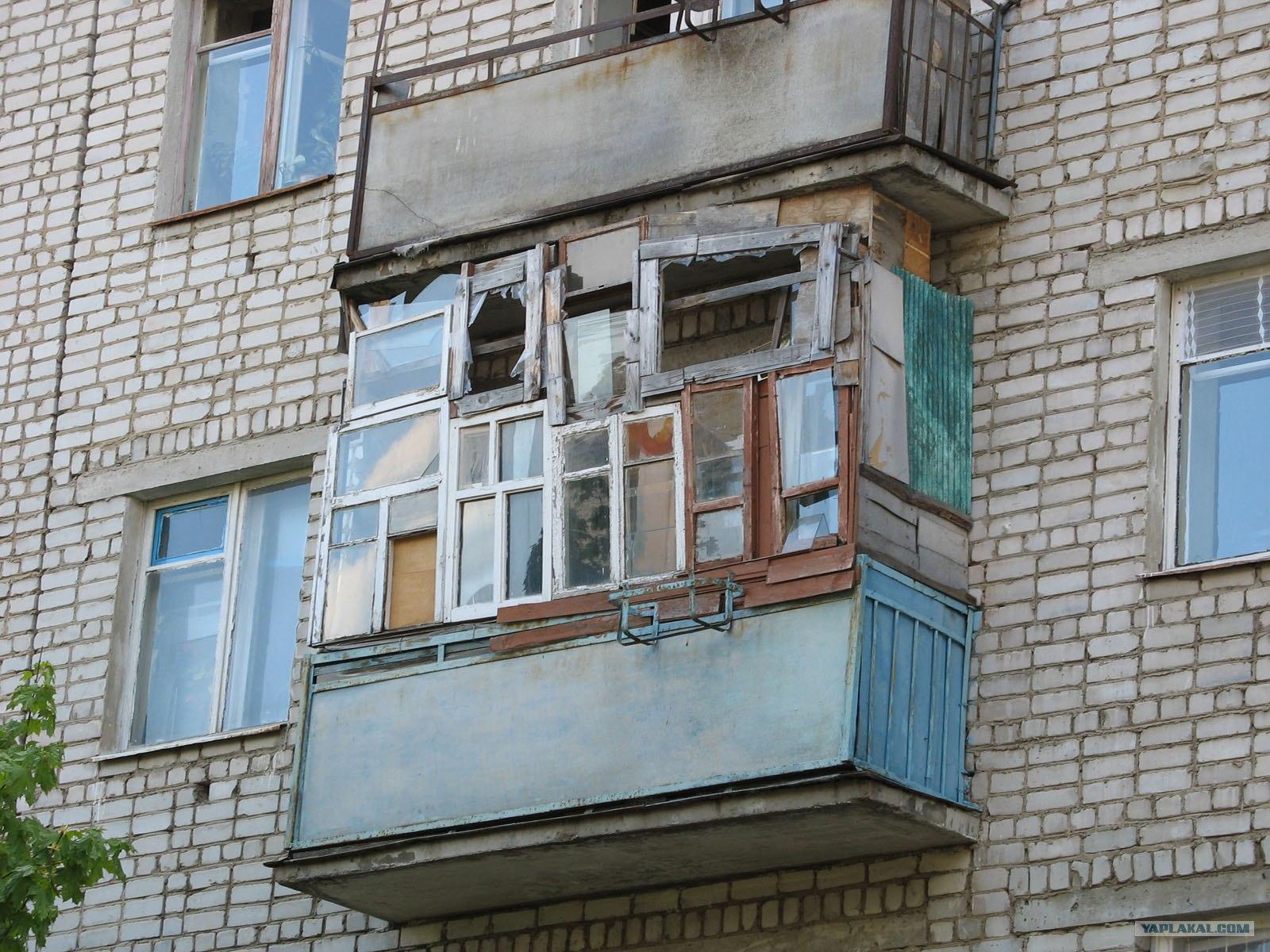 Омск: заказать недорогой демонтаж старых балконов лоджий в о.
