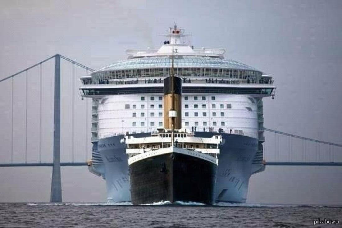 общаться, будем корабль больше титаника фото форма