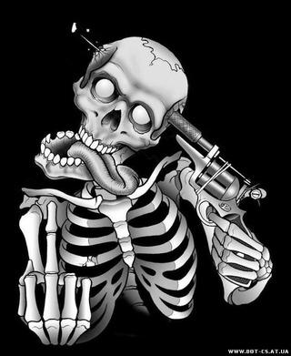 крутые картинки скелетов
