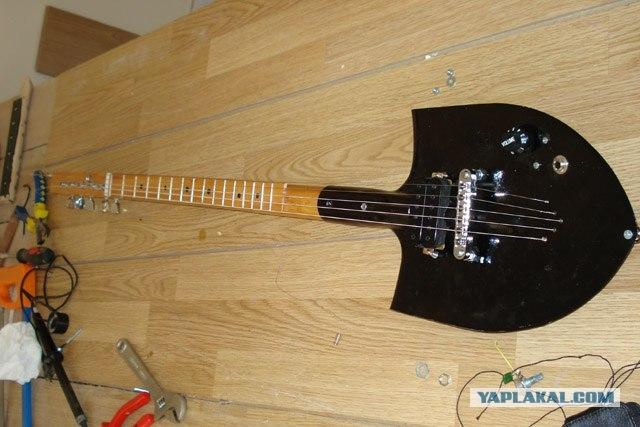 Гриф для гитар своими руками