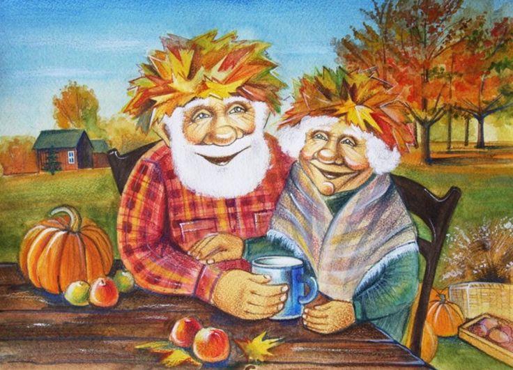 Картинки бабки с дедом приколы