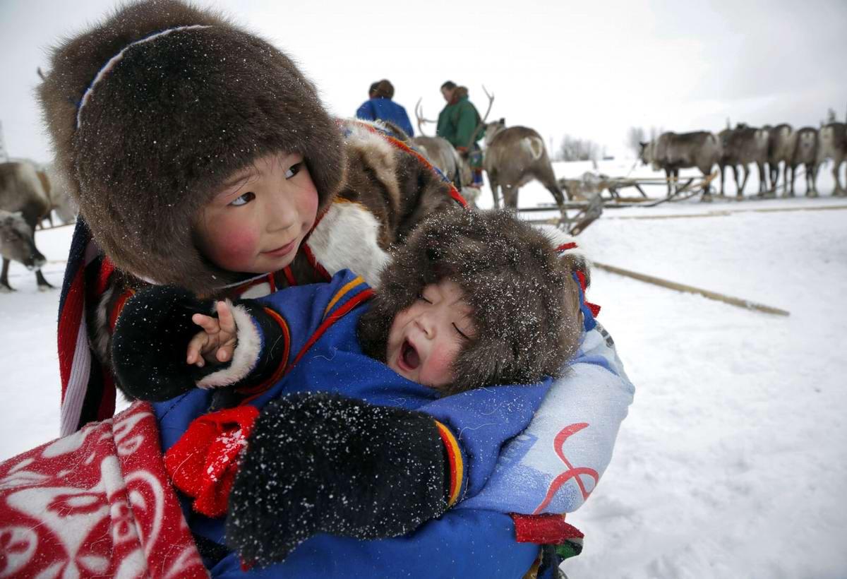 российская художница, фото оленевода с семьей жена помогла певцу