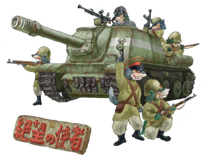 Веселые картинки с танком, анимации вишней