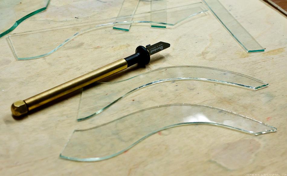 какой стеклорез лучше применять при резке зеркала 4 мм