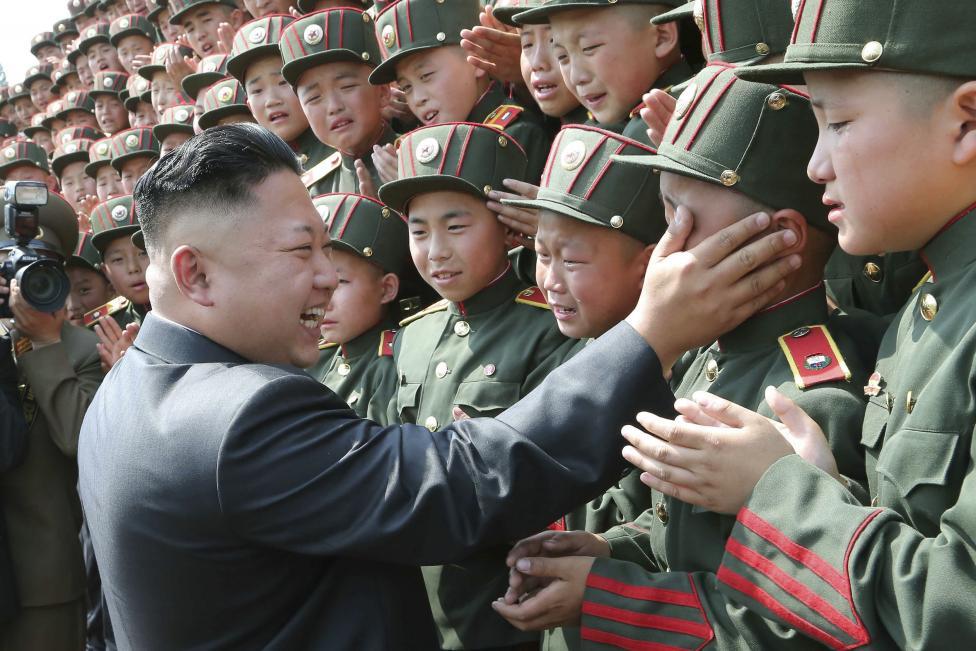 Фото детей из северной кореи