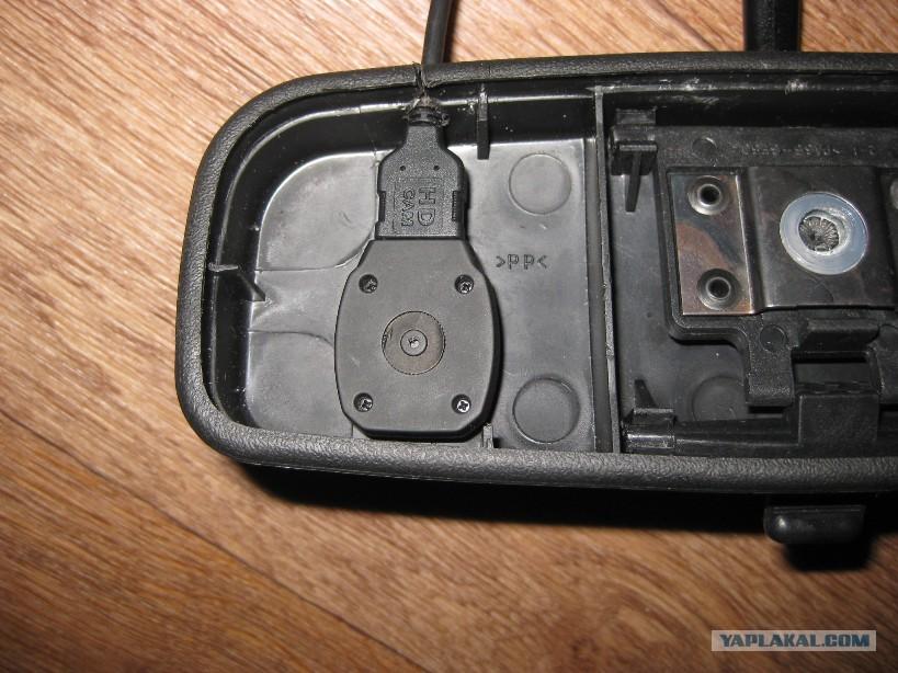 Скрытая видеокамера в машине