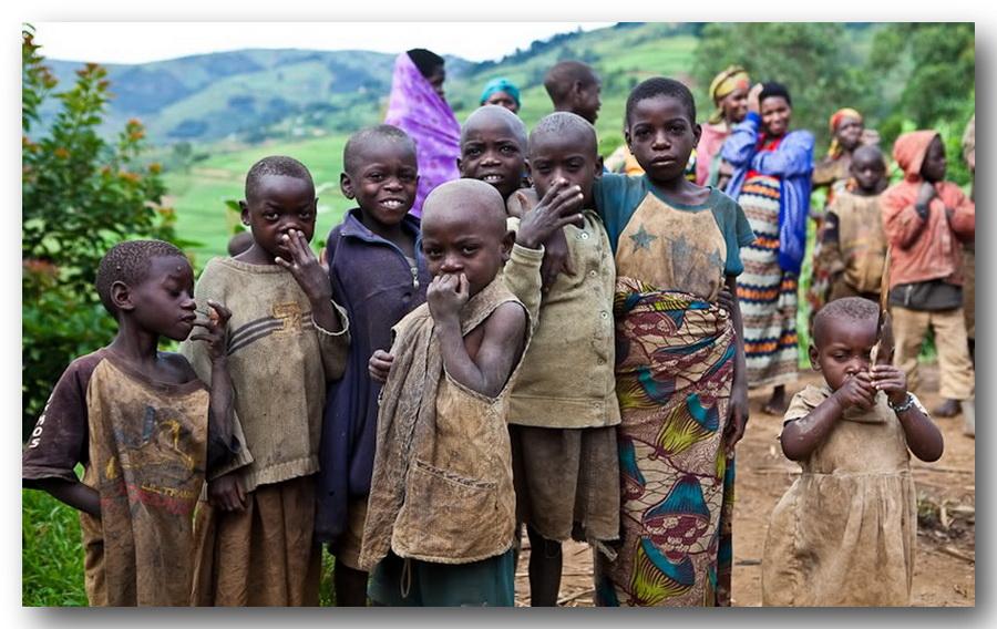 Пришлось заниматься сексом со всем африканским племенем