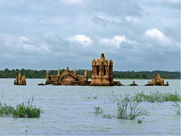 затопленные города россии фото под водой
