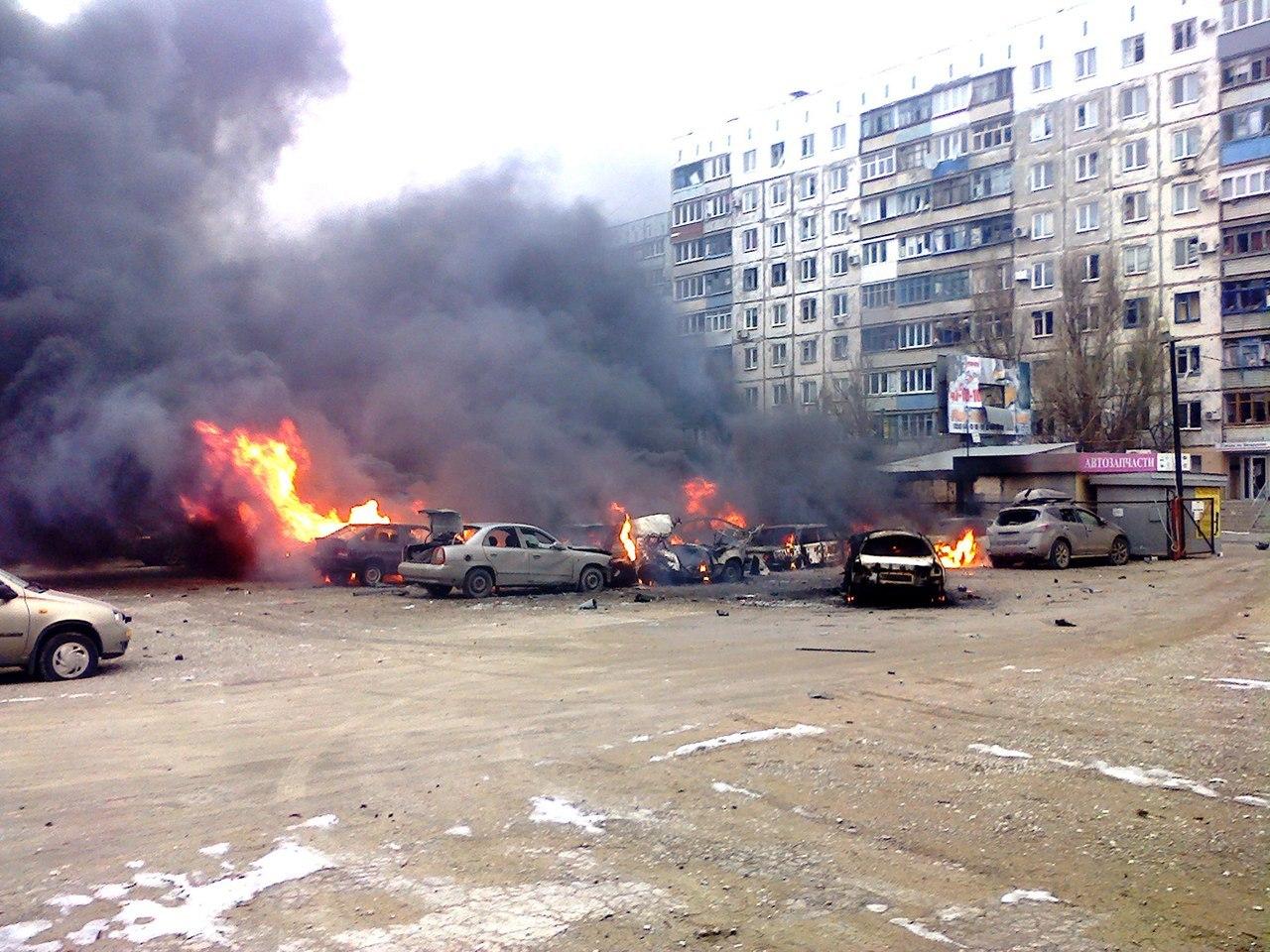 Вранці в Києві згоріло п'ять автомобілів - Цензор.НЕТ 7822