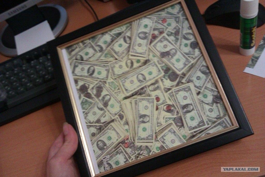 Подарок для босса своими руками